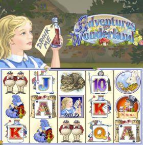 Игровой устройство Adventures in Wonderland резаться бесплатно