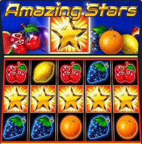 Игровой аппарат Amazing Stars исполнять бесплатно