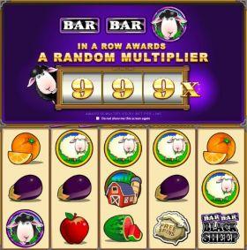 Игровой автоматический прибор Bar Bar Black Sheep резаться бесплатно