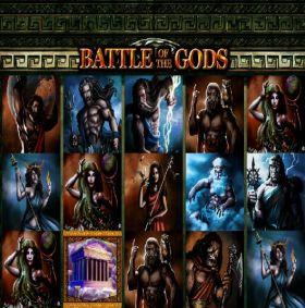 Игровой умная голова Battle of the Gods шалить бесплатно