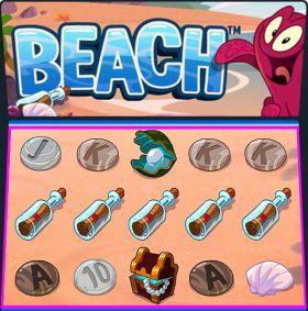 Игровой автоматический прибор Beach делать ход бесплатно