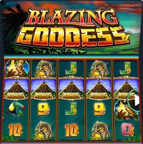Игровой машина Blazing Goddess ходить бесплатно
