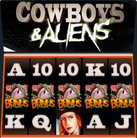 Игровой станок Cowboys & Aliens ходить бесплатно