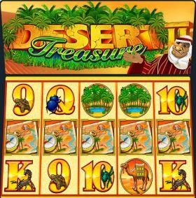 Игровой робот Desert Treasure II выступать бесплатно