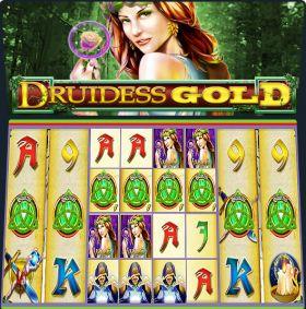 Игровой умная голова Druidess Gold ходить бесплатно