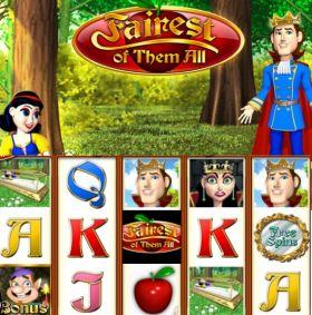 Игровой автоматическое устройство Fairest of Them All представлять бесплатно