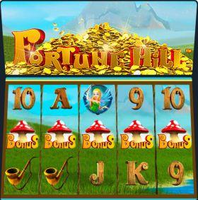 Игровой автоматический прибор Fortune Hill представлять бесплатно