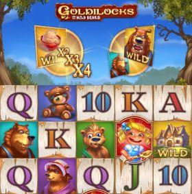 Игровой станок Goldilocks and the Wild Bears выступать бесплатно