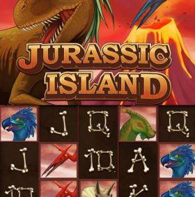 Игровой автоматический прибор Jurassic Island исполнять бесплатно