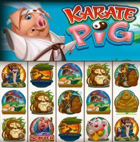Игровой механизм Karate Pig резаться бесплатно