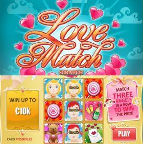 Игровой умная голова Love Match Scratch шалить бесплатно
