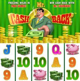 Игровой агрегат Mr. Cash Back резаться бесплатно