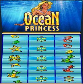 Игровой машина Ocean Princess представлять бесплатно