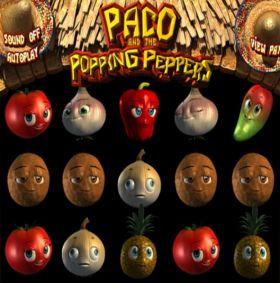 Игровой станок Paco and the Popping Peppers выступать бесплатно