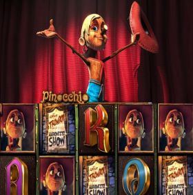 Pinocchio описание игрового автомата