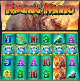 Игровой машина Raging Rhino шалить бесплатно