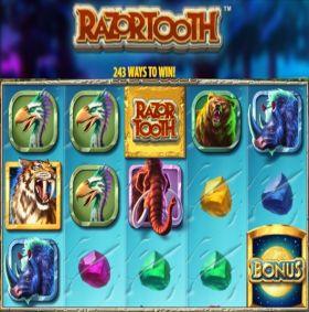 Игровой робот Razortooth выступать бесплатно