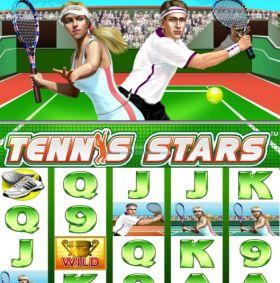 Игровой агрегат Tennis Stars шалить бесплатно