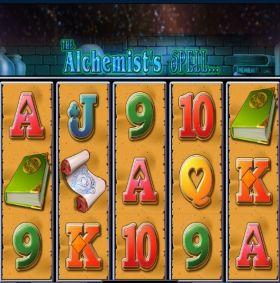 Игровой механизм The Alchemists Spell шалить бесплатно