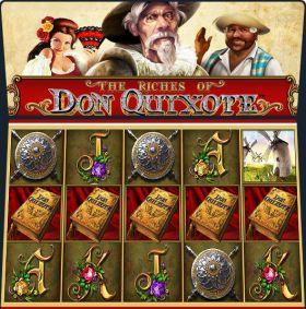 Игровой автоматическое устройство The Riches of Don Quixote выступать бесплатно