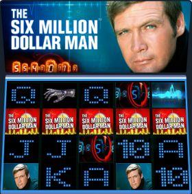 Игровой аппарат The Six Million Dollar Man шалить бесплатно