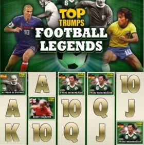 Игровой автоматическое устройство Top Trumps Football Legends представлять бесплатно