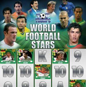 Игровой механизм Top Trumps World Football Stars шалить бесплатно