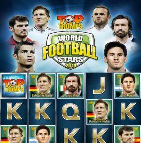 Игровой автоматический прибор Top Trumps World Football Stars 0014 дуться бесплатно