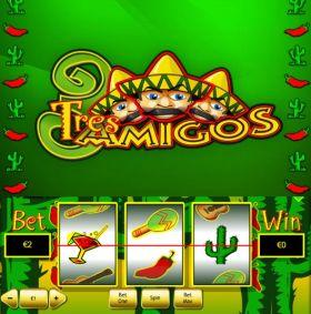 Игровой умная голова Tres Amigos исполнять бесплатно