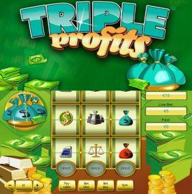 Игровой умная голова Triple Profits представлять бесплатно