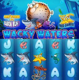 Игровой аппарат Wacky Waters шалить бесплатно