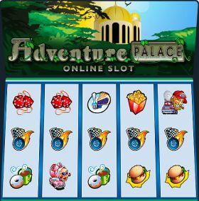 Игровой агрегат Adventure Palace ходить бесплатно