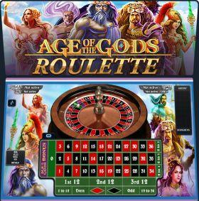 Игровой машина Age of the Gods Roulette шалить бесплатно