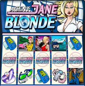 Игровой автоматическое устройство Agent Jane Blonde делать ход бесплатно