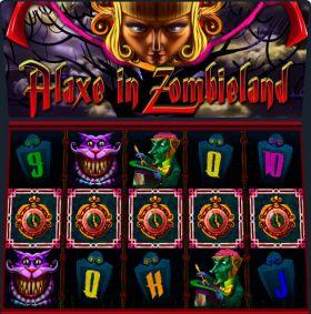 Игровой станок Alaxe in Zombieland делать ход бесплатно