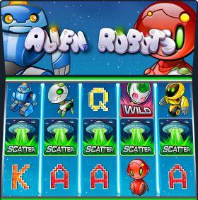 Игровой робот Alien Robots ходить бесплатно
