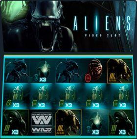 Игровой аппарат Aliens выступать бесплатно