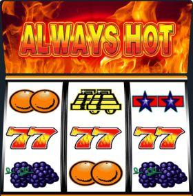 Игровой аппарат Always Hot представлять бесплатно