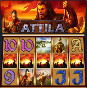Игровой аппарат Attila представлять бесплатно