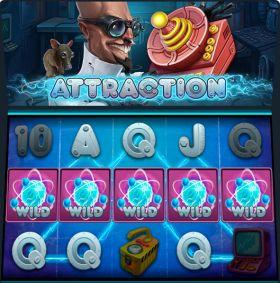 Игровой аппарат Attraction ходить бесплатно