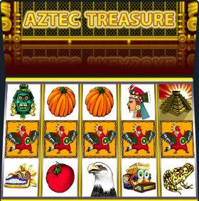 Игровой устройство Aztec Treasure представлять бесплатно