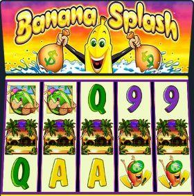 Игровой станок Banana Splash выступать бесплатно