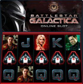 Игровой агрегат Battlestar Galactica резаться бесплатно