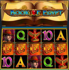 Игровой машина Book of Egypt резаться бесплатно