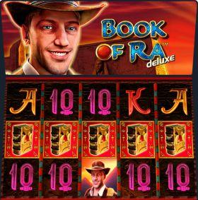 Игровой агрегат Book of Ra Deluxe шалить бесплатно