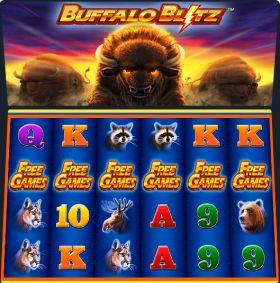 Игровой умная голова Buffalo Blitz представлять бесплатно
