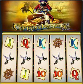 Игровой машина Captains Treasure ходить бесплатно