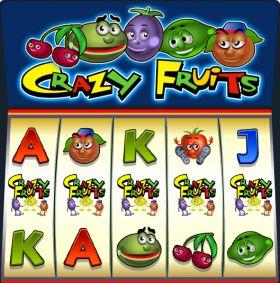 Игровой автоматический прибор Crazy Fruits дуться бесплатно