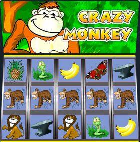 Игровой автоматическое устройство Crazy Monkey выступать бесплатно