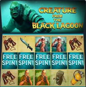 Игровой умная голова Creature From The Black Lagoon выступать бесплатно